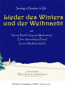 Liederabend Lieder des Winters