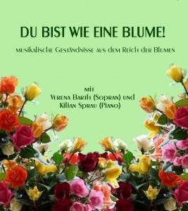 """Verena Barth Liederabend """"Wie eine Blume"""""""