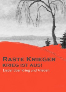 Verena Barth Liederabend Raste Krieger